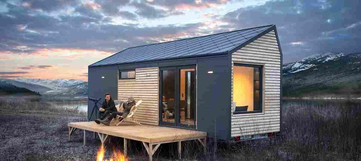 Tiny House: Mit einer Terrasse wird's gleich noch viel schöner