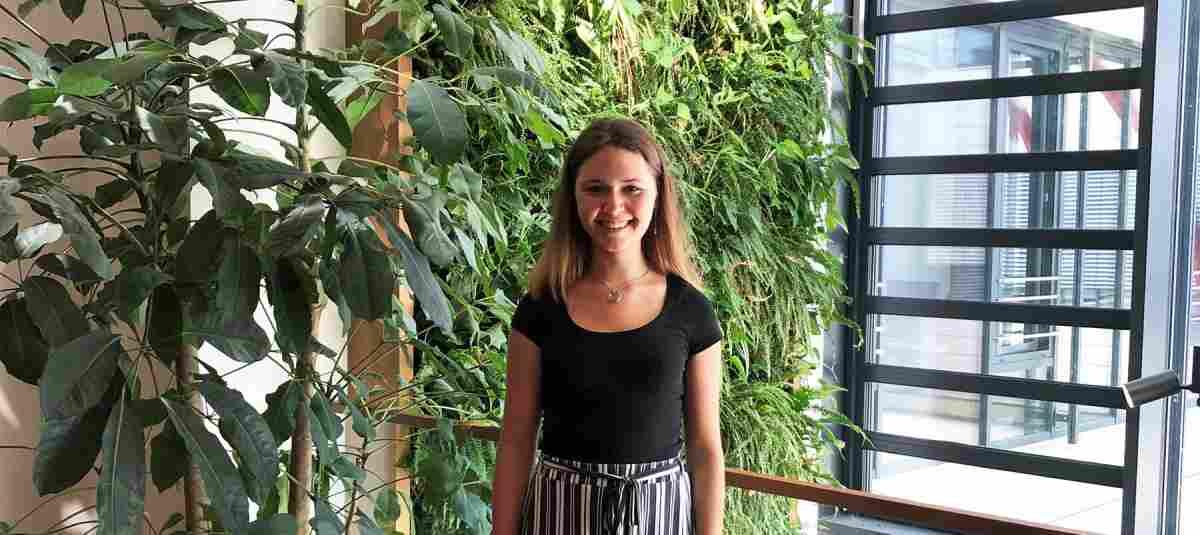Annelie Weber studiert Umweltingenieurwesen und freut über die Förderung des ...