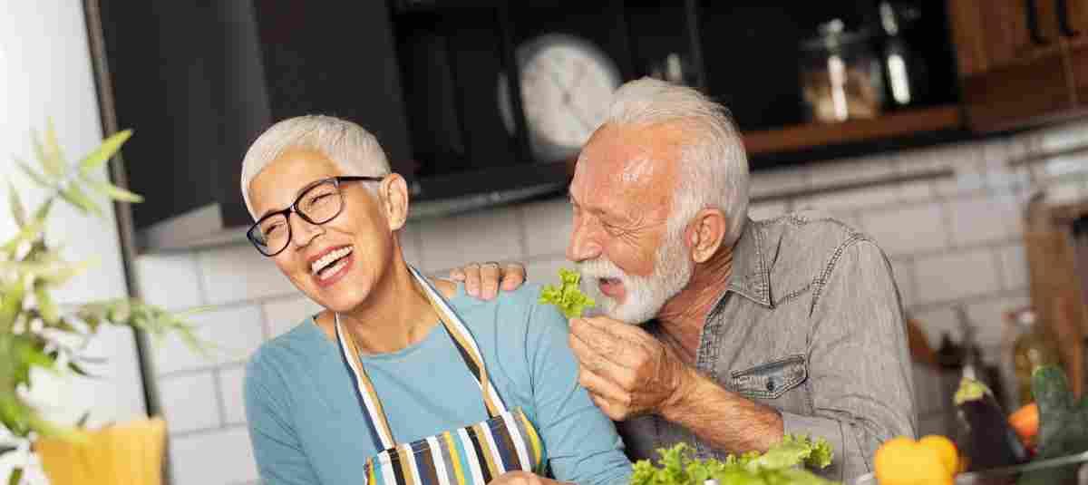 Im Alter nimmt der tägliche Energiebedarf ab