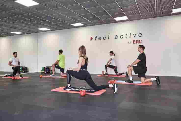 """Neben dem Fitnessstudio gibt es im """"ERL Dahoam"""" noch einen Übungsraum - zum  ..."""