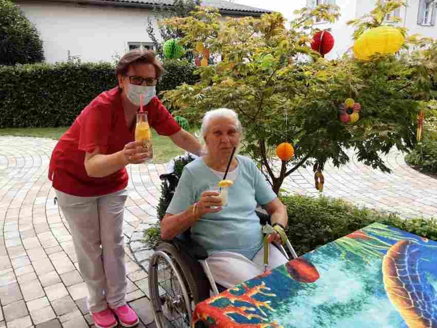 Gerade jetzt kommt es noch mehr auf gute und verantwortungsvolle Pflege an,  ...