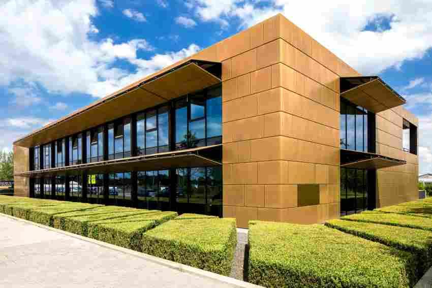 Das Goldhaus ist ein architektonisches Statement