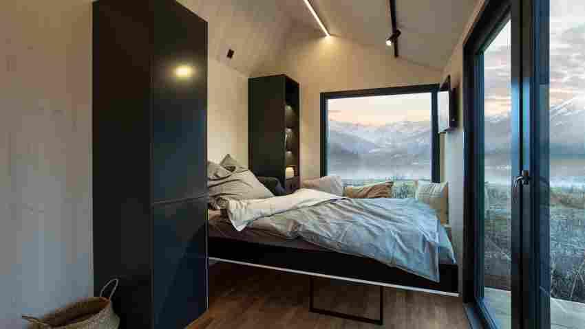 Schlafplatz mit Aussicht