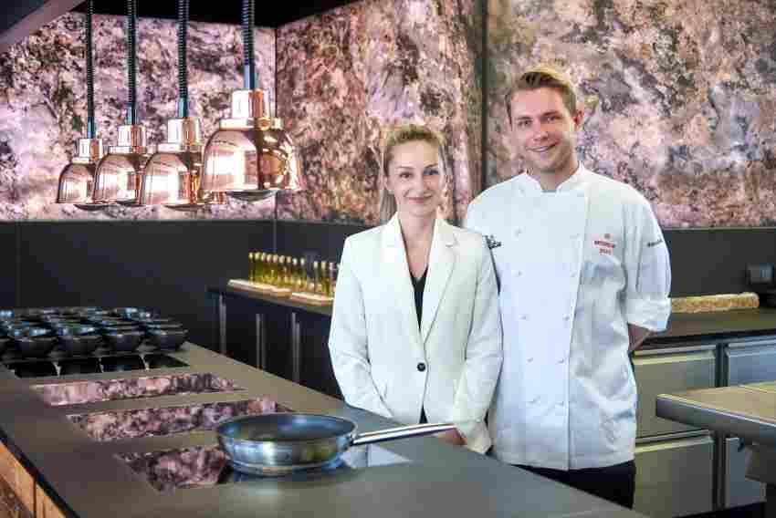 Eingespieltes Team Josefine Nocke (l.) und Daniel Klein