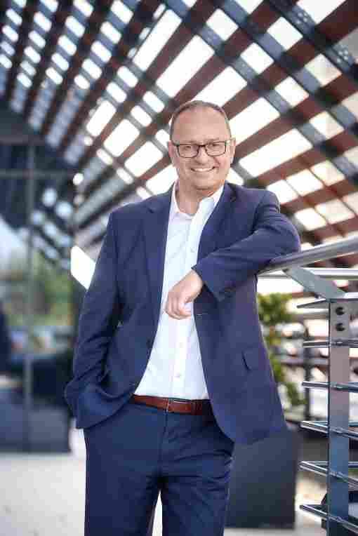 Kommt von der Lindner AG: Fritz Kumpfbeck